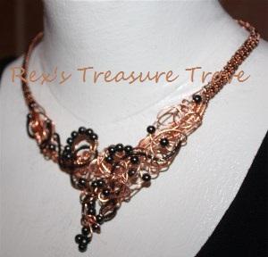 Heart Hematite Necklace